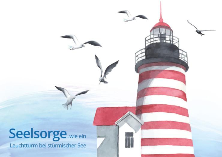 Seelsorge – wie ein Leuchtturm bei stürmischer See