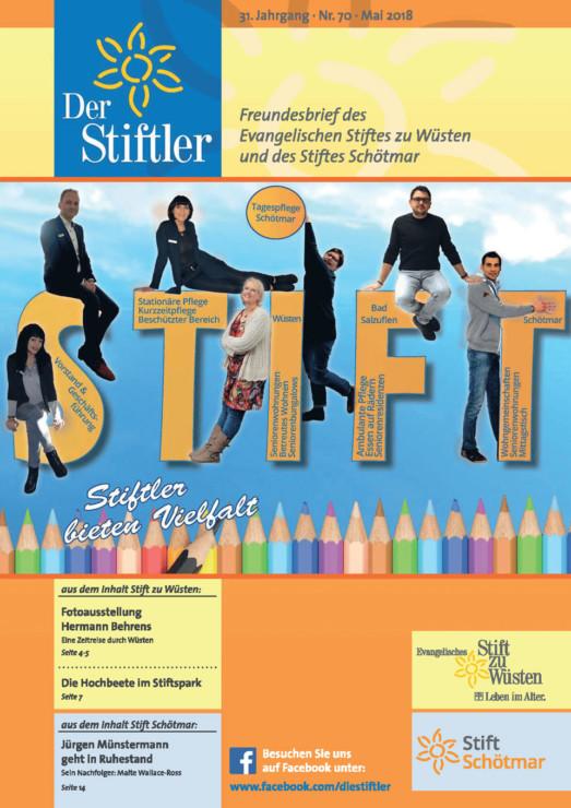 """Magazin """"Der Stiftler"""" 3"""