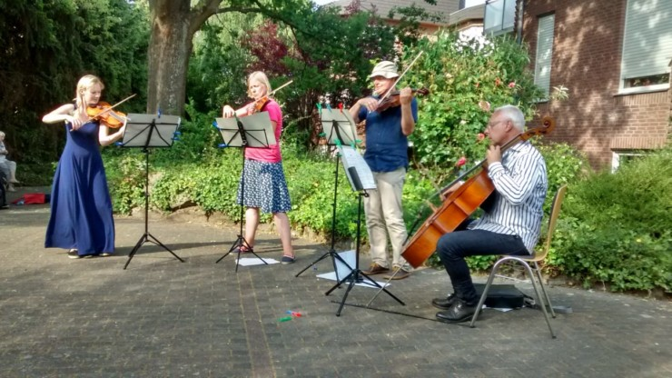 Klassisches Konzert beinahe vom Winde verweht... 1