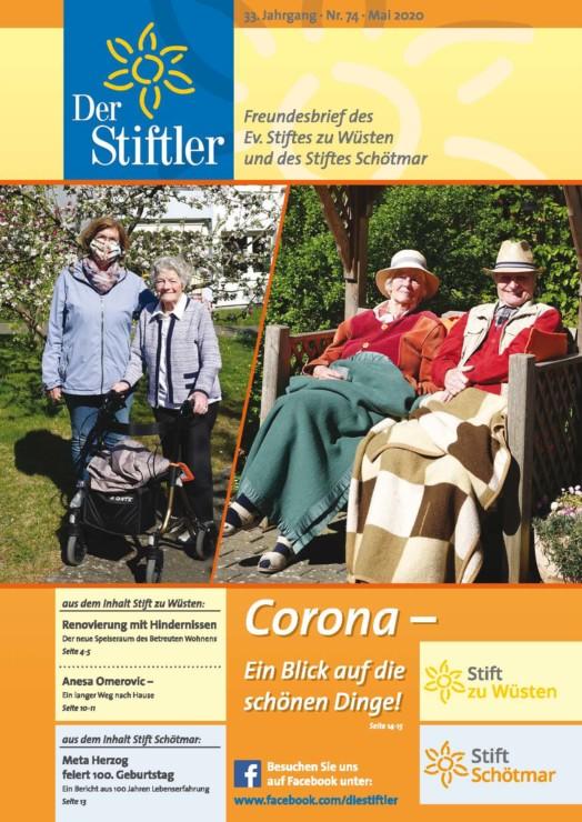 """Magazin """"Der Stiftler"""" 1"""