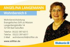 Visitenkarte Angelina Langemann