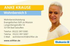 Visitenkarte Anke Krause