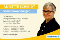 Visitenkarte Annette Schmidt