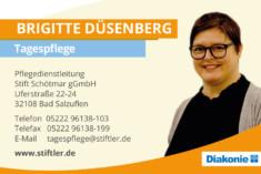 Visitenkarte Brigitte Düsenberg
