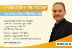 Visitenkarte Christoph Fritsche