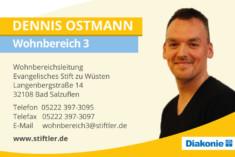 Visitenkarte Dennis Ostmann