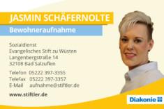 Visitenkarte Jasmin Schäfernolte