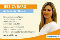 Visitenkarte Jessica Berg