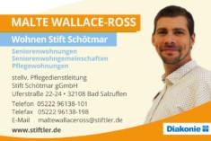 Visitenkarte Malte Wallace-Ross
