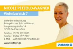 Visitenkarte Nicole Petzold-Wagner