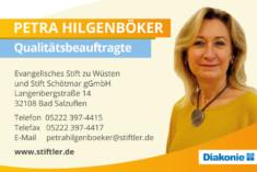 Visitenkarte Petra Hilgenböker
