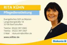 Visitenkarte Rita Kühn