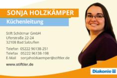 Visitenkarte Sonja Holzkämper